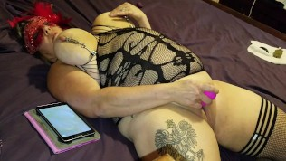BBW/BBM BDSM Big Boob MILF spanked flogged and anal fucked