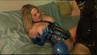 Big Tit MILF Fucks Sex Slave In Latex – ANGELA ATTISON